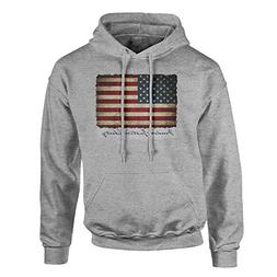 5 Star Limited Edition Vintage American Flag Hoodie Pullover
