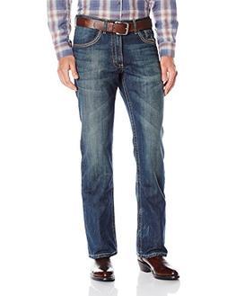 Wrangler Men's 20x No. 42-Vintage Boot Cut Jean, Storm Blue,