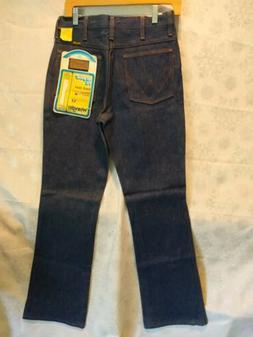 Vintage Vtg Men's Wrangler Regular Fit Boot Cut Blue Denim