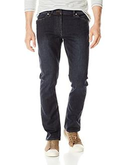 Volcom Men's Vorta Slim Fit Stretch Denim Jean, Sample Gene
