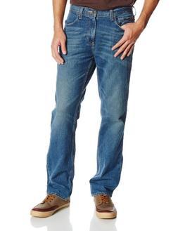 Haggar Men's 10-Year Wash Slim Fit 5-Pocket Denim Jean, Deni