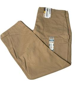 Carhartt Men's Washed Twill Dungaree Relaxed Fit,Dark Khaki,