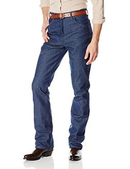 Wrangler Men's Western Boot Cut Jean Regular, Navy, 34x32