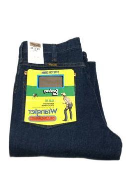 Wrangler Men's Western Traditional Boot Cut Slim Jean,Navy S