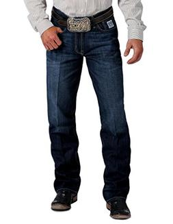 Cinch Men's White Label Relaxed Fit Jean, Medium Blue Stonew