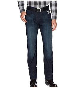 Cinch Men's White Label Relaxed Fit Jean, Dark Rinse Perform