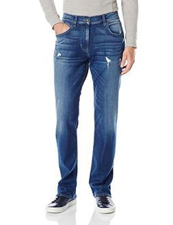 Hudson Jeans Men's Wilde Relaxed Straight Leg, Seabed, 42