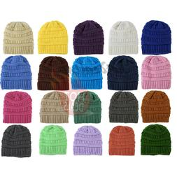 Women's Men Beanie Hat Knitted Slouchy Baggy Oversize Winter