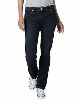 Dickies Women's Perfect Shape Denim Jean-Straight Stretch -