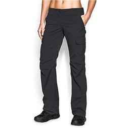 Under Armour Women's Tactical Patrol Pant, Black/Black, 4