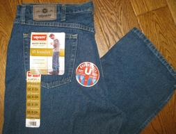 WRANGLER MEN'S JEANS NWT 40 x 30 RELAXED FIT 97601DR FIVE ST