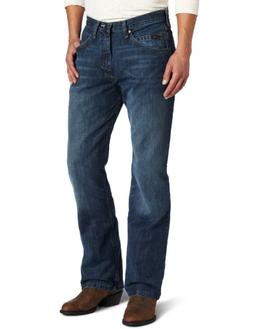 Wrangler Men's Xtreme Relaxed Competition Jean,River Wash,36