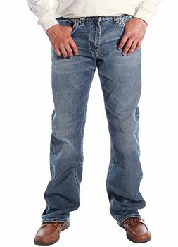 Silver Jeans Men's Zac Relaxed Fit Straight Leg Jean Pants,