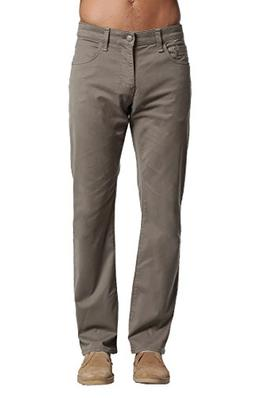 Mavi Men's Zach Regular-Rise Straight-Leg Jeans, Dusty Olive